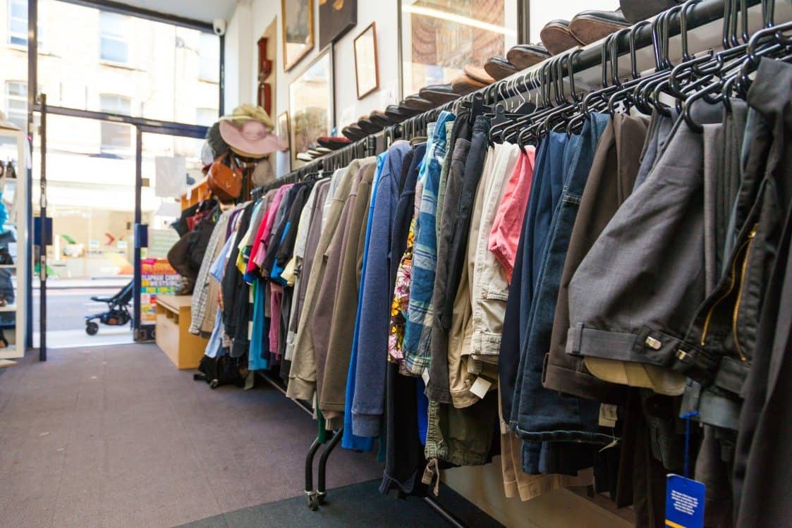 how to find a local charity shop