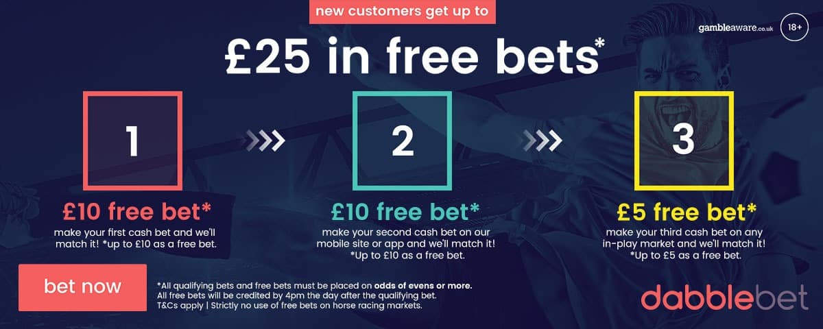 Just one example of a matched betting offers available to new customers.